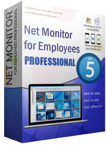 Net Monitor for Employees Pro full screenshot