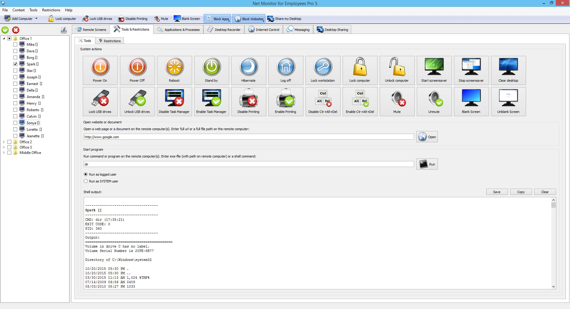 See Employee Monitoring Software Screenshots
